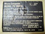 PC-6001A背面